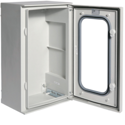 FL259B Polyester enclosure,  Orion.Plus,  glazed door 500x300x200 mm