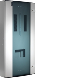 JK212BG 250A 12 Way TPN Board Glazed Door
