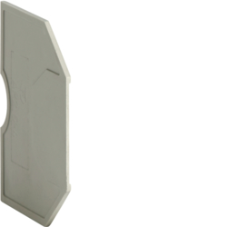 KWE01G Endplate for KXA02LH,  KXA04LH,  Colour: gray