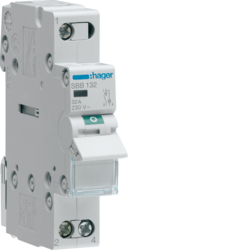 SBB132 1-pole,  32A Modular Switch with Indicator Light