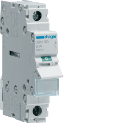 SBN180 1-pole,  80A Modular Switch