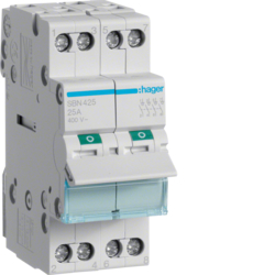 SBN425 4-pole,  25A Modular Switch