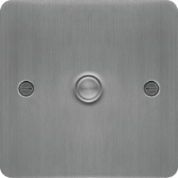 WFDS1BS 1 Gang Dimmer Switch 400W Brushed Steel