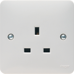 WMS81 13A 1 Gang Unswitched Socket