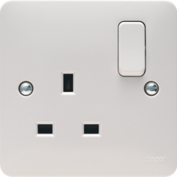 WMSS81 1 Gang Double Pole Switched Socket