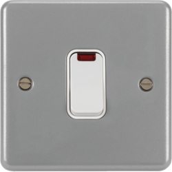 WPDP50N 50A Double Pole Switch 1 Gang with LED Indicator