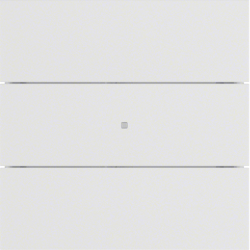 75163599 B.IQ push-button 3gang comf,  KNX - B.IQ,  p. white,  matt,  plastic