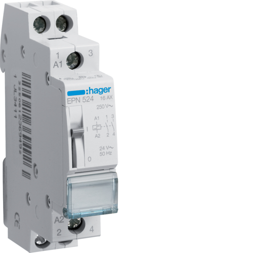 EPN524 Latching relay 2NO 24V