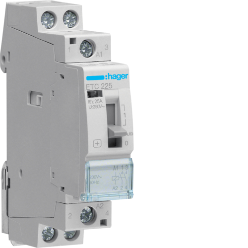 ETC225 Night & Day Contactor 25A,  2NO,  230V~50Hz