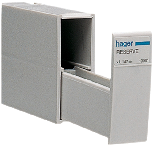Hager Electrical Fuse Box : Technical properties l