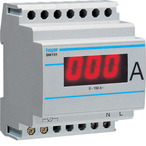 SM151 Wiring Voltmeter on