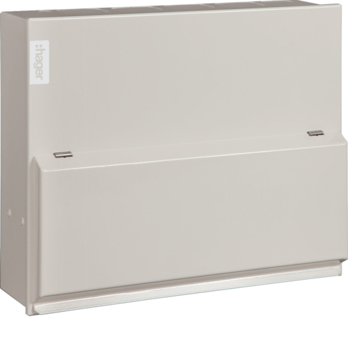VML310H Consumer unit,  Design10,10way, 100A, 30mA,  RCCB incomer