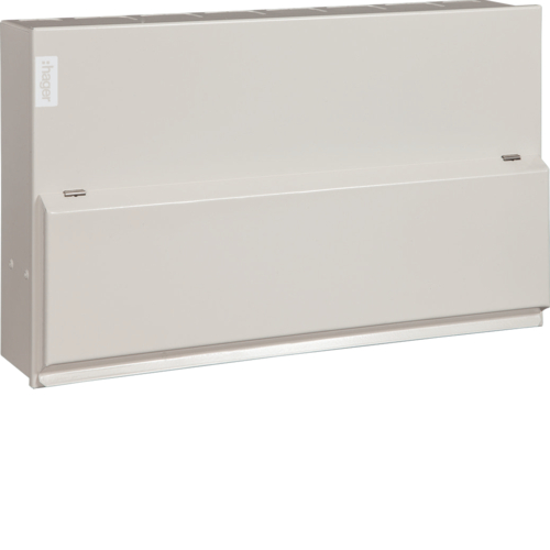 VML766H Consumer unit,  Design10,12way,  split load 6+6,100A Sw, 2*63A, 30mA,  RCCB