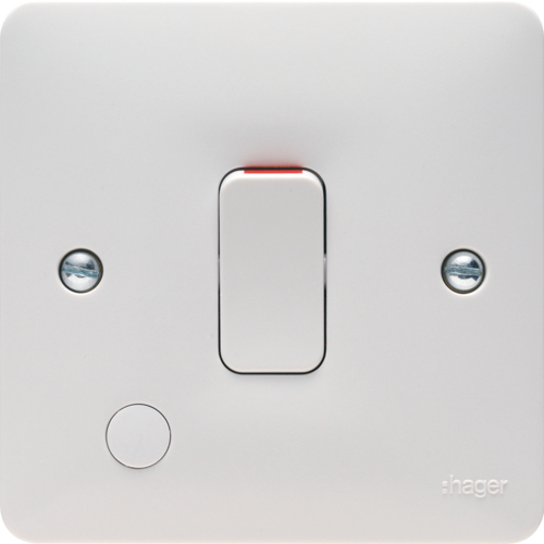 WMDP84FO 20A Double Pole Switch with Flex Outlet