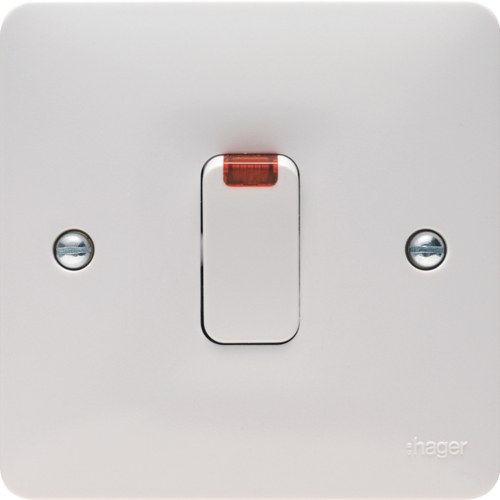 WMDP84N 20A Double Pole Switch with LED Indicator