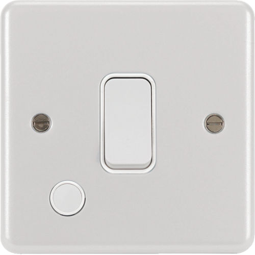 WPDP84FOW 20A Double Pole Switch with Flex Outlet White