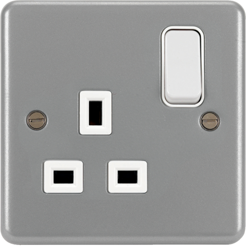 WPSS81 1 Gang Double Pole Switched Socket