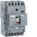 HDA100U Moulded Case Circuit Breaker h3 x160 TM ADJ 3P3D  100A 18kA CTC
