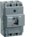HDA125Z Moulded Case Circuit Breaker h3 x160 TM FIX 3P3D  125A 18kA CTC