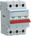 SBR399 3-pole,  125A Modular Switch with Red Toggle