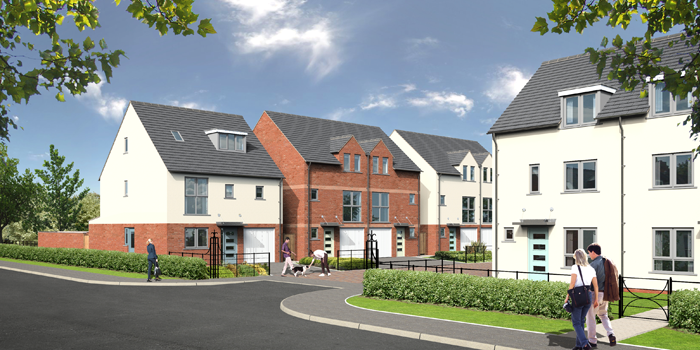 Hager Win Newland Homes Contract