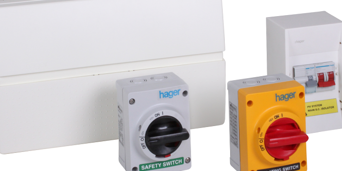 Hager Launches Photovoltaic Circuit Protection Solution