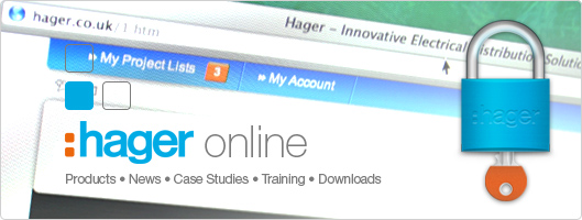Join Us Online at www.hager.co.uk